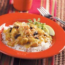 Apple-Curry Pork